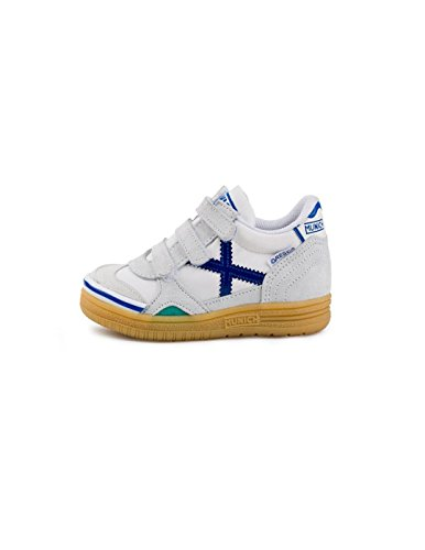 Munich Gresca Kid Vco, Zapatillas de Deporte Unisex Niños, Blanco (Blanco 01), 30 EU