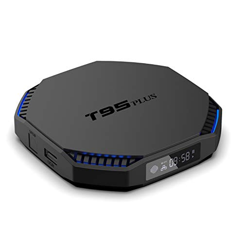 [2021] Android 11.0 TV Box Sistema actualizable Set Top Box RK3566 Quad Core 8GB RAM 64GB ROM Reproductores Multimedia de transmisión con 2.4G / 5.8GHZ WiFi con AC & BT 4.0 8K Smart TV Box