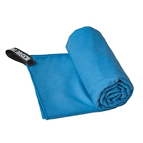 IAMZHL Toalla Deportiva de Secado rápido Absorbente de Agua y Sudor portátil-Blue-3-1 PCS 40x80 cm