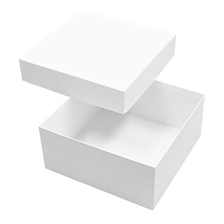 フラワーギフト用 貼り箱(No.11) [200×200×90]白 5枚セット (ギフトボックス ギフト箱 化粧箱 紙箱 贈答用)