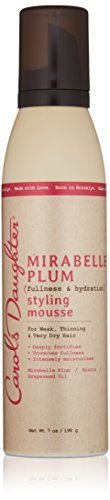 Carol's Daughter Mirabelle Plum Styling Mousse, 7 oz (Packaging May Vary)