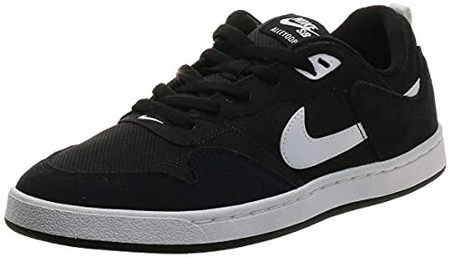 Nike SB Alleyoop, Zapato para Caminar Unisex Adulto, Black/White/Black, 42.5 EU