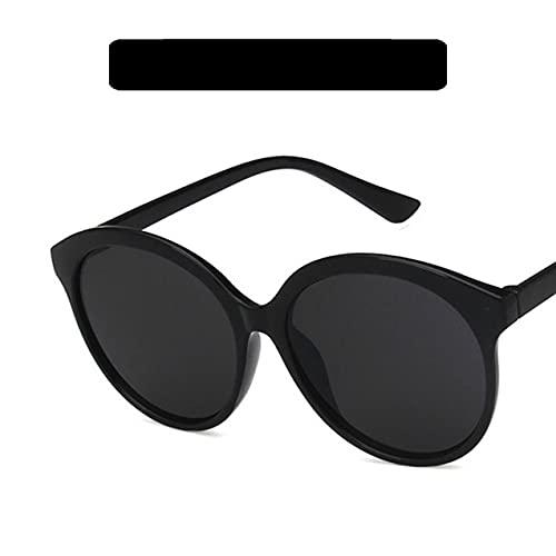 Zhou-YuXiang 5180 Gafas de Sol Deportivas Marco Redondo Gafas de Sol de Color Caramelo Diseño de Marca de Color de Personalidad