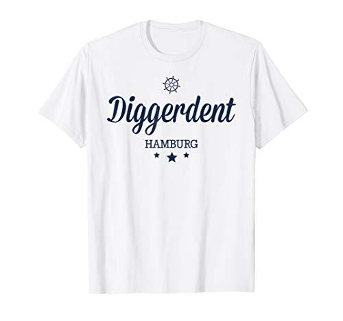 In Hamburg sagt man Digger - Lustiges Hamburg Souvenir T-Shirt