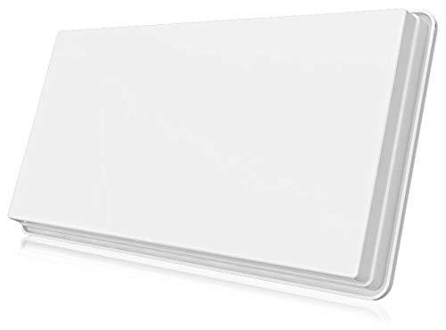 Selfsat H30D2+ Twin Flachantenne für zwei Teilnehmer inkl. Fensterhalterung