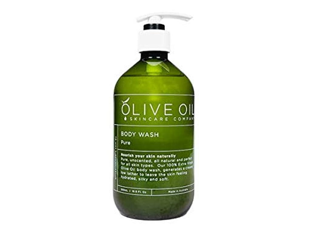 複雑でない感謝祭ひどいOliveOil ボディウォッシュ?ピュア500ml OliveOil Body Wash (Pure) Made in Australia
