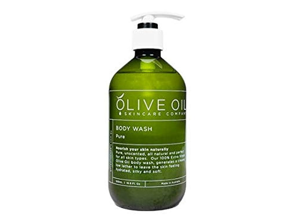 正当な共和国インチOliveOil ボディウォッシュ?ピュア500ml OliveOil Body Wash (Pure) Made in Australia