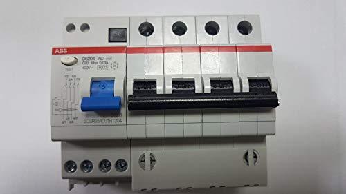 DS204 AC C20 30MA DIFFERENZIALE MAGNETOTERMICO QUADRIPOLARE - ABB SACE R428739