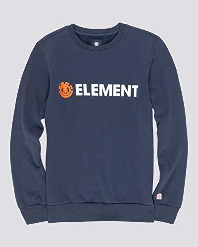 Element Blazin - Sudadera para Hombre Sudadera, Hombre, Eclipse Navy, XS