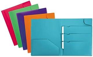 in cartone da 600 g colore: Nero 10 cartelline con elastici angolari e 3 alette Oxford Eurofolio+ Prestige per archiviare i documenti in modo sicuro e trasportare documenti in formato A4