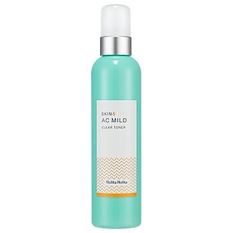 アーティファクトつま先屋内HolikaHolika Skin&AC Mild Clear Toner 245ml ホリカホリカ スキン&ACマイルドクリアトナー245ml [並行輸入品]