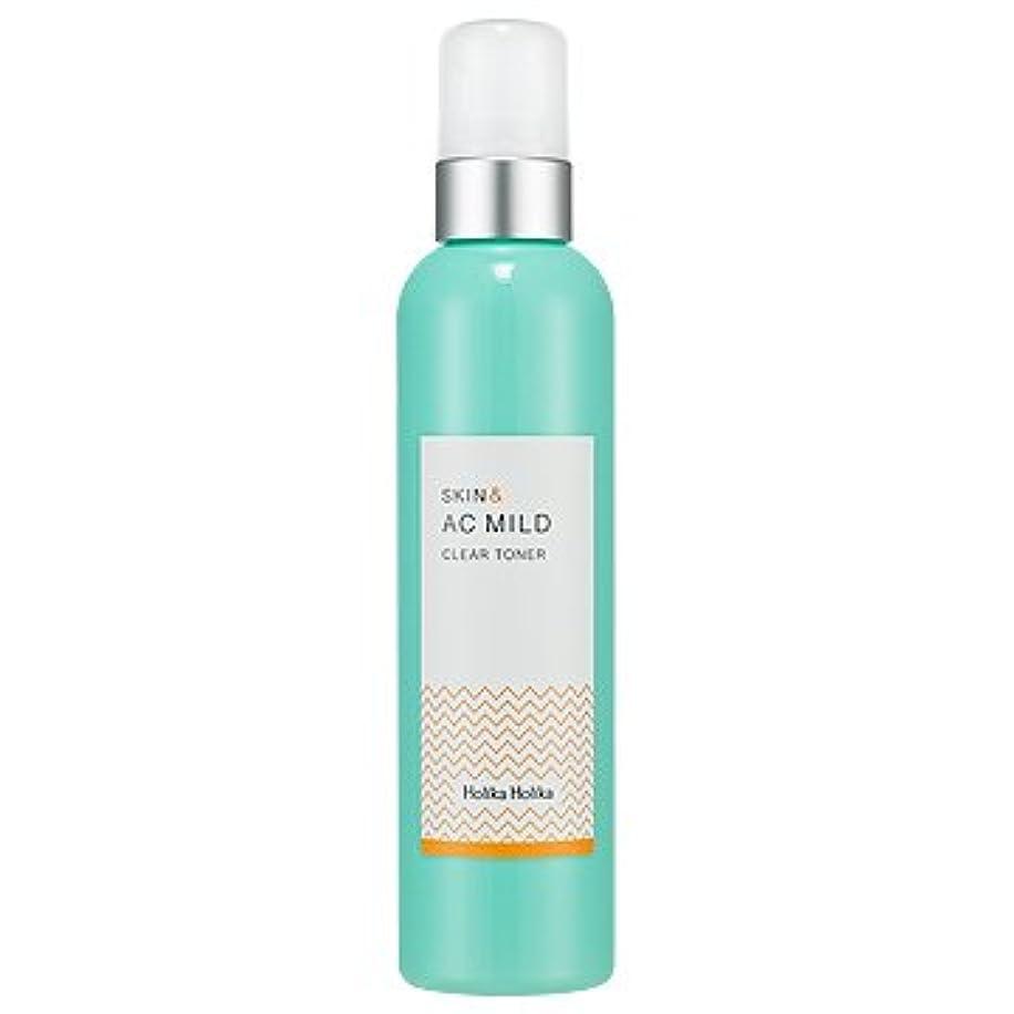 スラッシュ懸念アリHolikaHolika Skin&AC Mild Clear Toner 245ml ホリカホリカ スキン&ACマイルドクリアトナー245ml [並行輸入品]