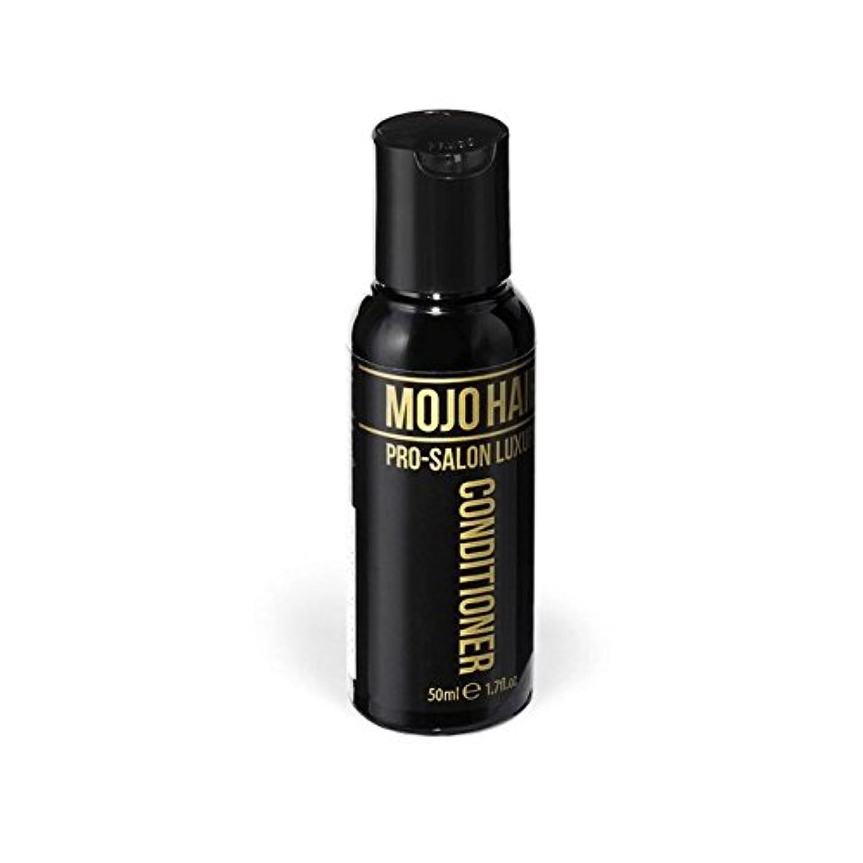 離す光沢のある蒸気Mojo Hair Pro-Salon Luxury Conditioner (50ml) (Pack of 6) - モジョの毛プロのサロンの贅沢なコンディショナー(50ミリリットル) x6 [並行輸入品]