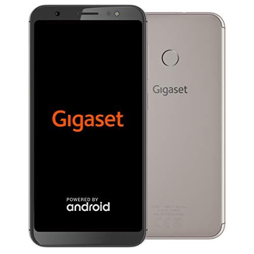 Gigaset GS185 Smartphone ohne Vertrag (13,97 cm (5,5 Zoll HD+) Bildschirm, 16GB Speicher, Android 8.1) metal cognac