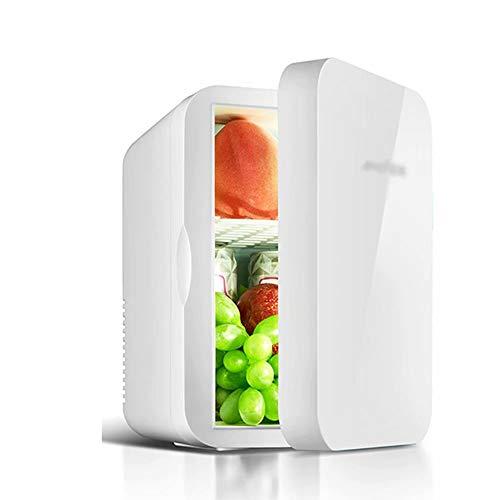 HSTFⓇ Mini-Kühlschrank Kühler & Wärmer | 6L Kapazität | Kompakt, tragbar und leise | Kompatibilität mit Wechselstrom und Gleichstrom 26.5 * 25 * 19cm