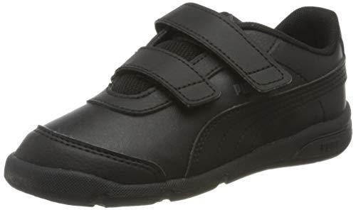 Puma Unisex Baby Stepfleex 2 Sl Ve V Inf Sneakers, Schwarz Black Black, 25 EU