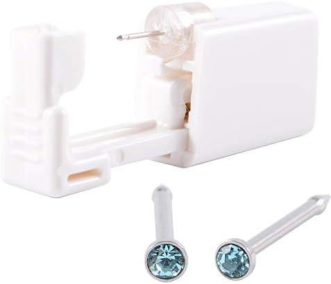 CHUANCI 1 Unit Disposable Safe Sterile Piercing Unit for Gem Nose Studs Piercing Gun Piercer product image