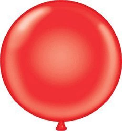 Mayflower 38177 72 Inch Giant Latex Balloon - rot by Mayflower