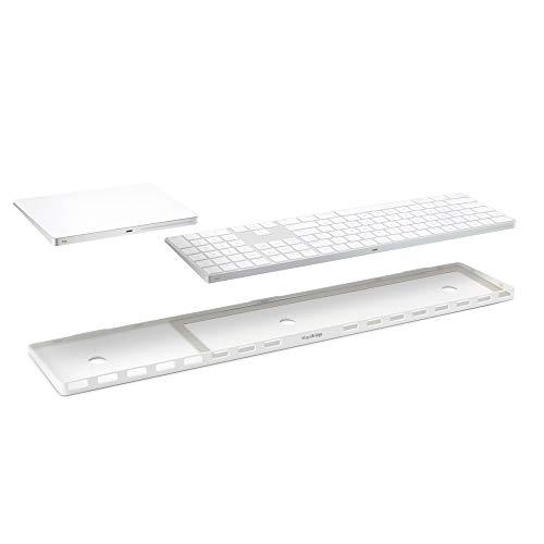 Twelve South MagicBridge Extended | Verbindet Apple Magic Trackpad 2 mit Apple Magic Keyboard mit Ziffernblock - Trackpad und Tastatur Nicht enthalten (weiß)