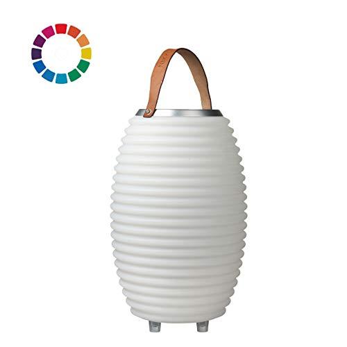 The.Lampion Color 35 - Bluetooth Lautsprecher/Speaker, Sektkühler/Getränkekühler und Multicolor LED Design Lampe