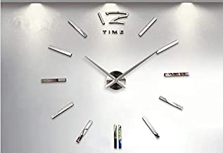Wall Clock with Big Pieces