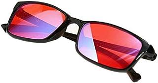 PILESTONE GM-2 Gafas Daltónicas de Color Rojo/Verde (Lentes