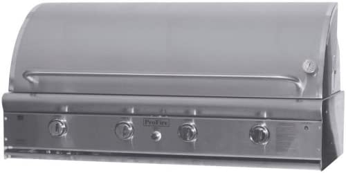 Profire High quality new PFDLX48R Stainless Steel NG Grill Head 48 - 5 popular Rotisserie w