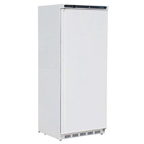 Gastro Gewerbekühlschrank Lagerkühlschrank Polar Standkühlschrank weiß 600L - weiß - Gastro Kühlschrank mit Volltüre - Digitales Thermostat mit Räder