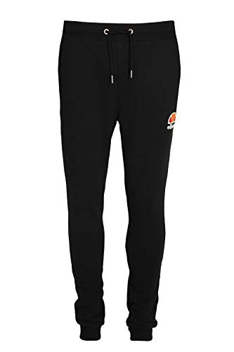 Ellesse Men's Ovest Logo Joggers, Black, X-Large