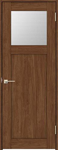 ラシッサS 標準ドア ASTH-LGJ 錠付き 0620 W:734mm × H:2,023mm 吊元:左吊元 本体色/枠色:クリエモカ(MM) 枠種類:ノンケーシング95(壁厚:64-75) 沓摺:ツバ付き薄沓摺(A枠) 把手:サークルB 鍵種類:丸型表