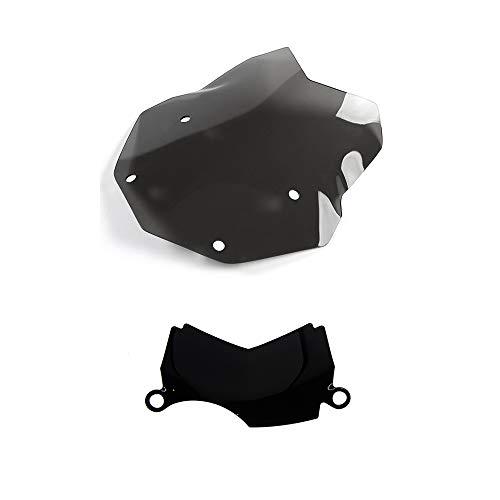 Paravento cupolino Parabrezza standard + deflettore centrale aria nero fumè R1200GS LC STANDARD ADVENTURE 2013-2018