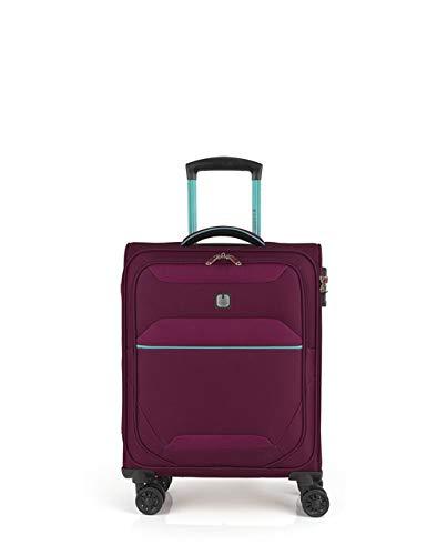 Gabol - Giro | Maleta de Cabina de Tela de 39 x 54 x 20 cm con Capacidad para 33 L de Color Burdeos