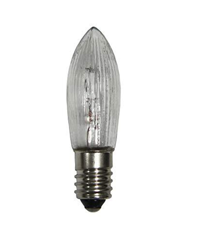 10x-Spitzkerze-Topkerze-Ersatzkerze-Glhbirne-Lichterkette