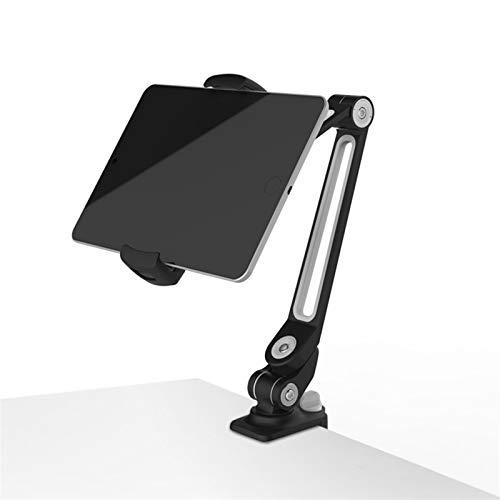 AI XIN SHOP Soporte de Tableta Comercial Giratorio de 360 °, 11-20 cm iPad Mini Tableta de Negocios, Soporte de teléfono de Aluminio Adecuado for Cama, Cocina, Tableta de teléfono de Oficina