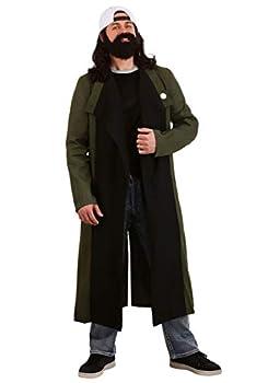 Fun Costumes Men s Silent Bob Costume X-Large Black