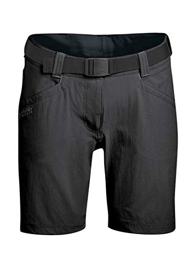 Maier sports Damen Lulaka Shorts Bermuda, Schwarz (Black/900), 42