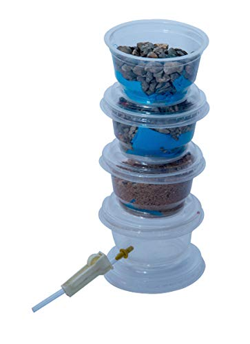 Water Filter - Water Purification Science Project - Build A Water Treatment System - Water Purification: Aeration, Coagulation, Sedimentation, Filtration, and Disinfection.