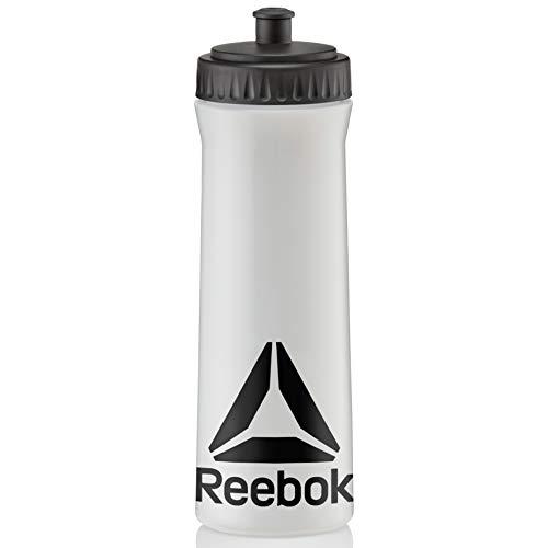 Reebok 750ml Water Bottle - Clear/Black