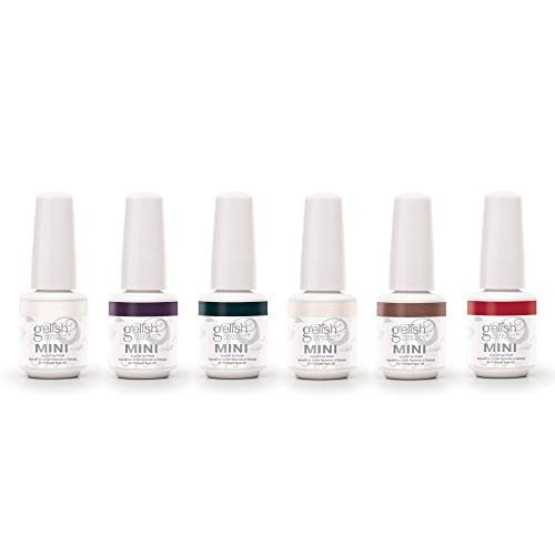 Gelish Mini 6 Color Soak Off Gel Nail Polish Set, Forever Marilyn Collection