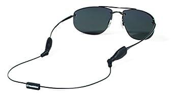 Croakies Arc Endless System Glasses Strap Black