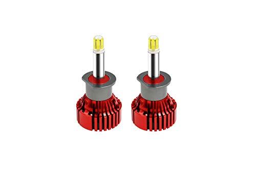 MCYAW H7 H4 Faro de Coche Super Power 100W H11 9012 LED Bombilla 20000LM 12V Auto Light 9005 H10 9006turbo LED 3D 360 Grados Auto (Socket Type : H1)