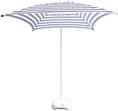 Ombrellone da giardino con cassetta delle lettere a strisce, ombrellone da giardino regolabile, molto adatto per il nuoto commerciale sulla spiaggia del cortile, protezione solare, protezione dalla pi