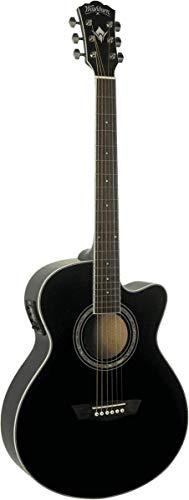 Washburn EA12B Festive Series Mini Jumbo Cutaway guitarra acústica eléctrica