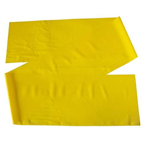 Theraband Gymnastikband für Fitnessübungen/Physiotherapie, SPVINP29849, Yellow (Light), 2,5 m