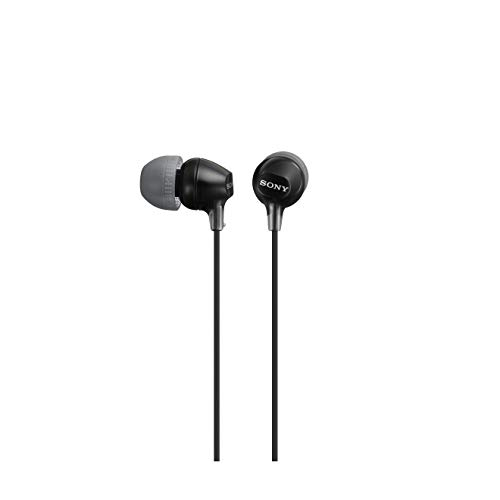Sony Earphones- MDREX15LP (Black)