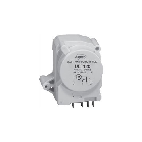 UET120 Supco Electronic Defrost Timer 482493 WR9X489 WR9X520 215846602 68233-1