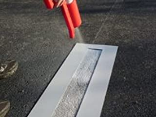 PARKING LOT LINE STENCIL | 4 X 108 inch | 60 mil Standard Grade | for Parking Lot and Pavement Lines