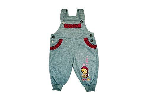 Kleines Kleid Mascha und der Bär Mädchen Latzhose Größe 68 74 80 86 92 98 104 Baumwolle Masha and The Bear Strampler-Hose Freizeithose Pump-Hose...