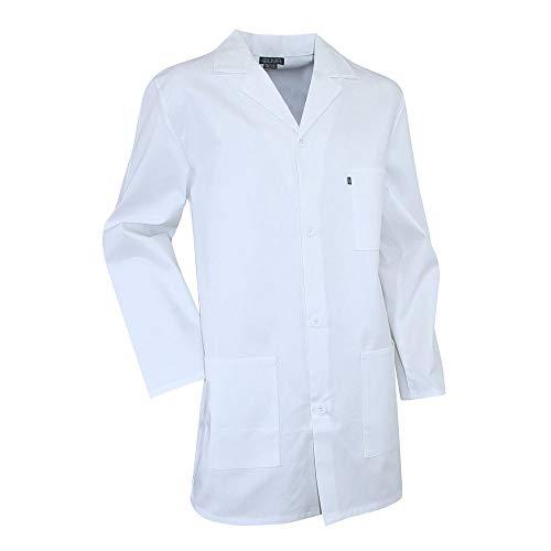Camice bianco per studenti di laboratorio, Pigmento LMA bianco bianco