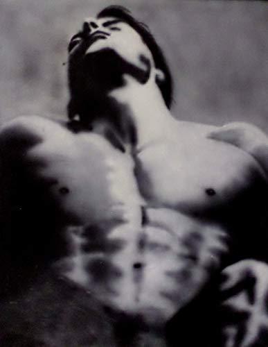 Acrylmalerei auf Leinwand/Akt nackt / 100% handbemalt schwarz und weiß/signiert original Gay Art Sale/Sexy/Männer/Model/Guy/Kunst 40x50cm
